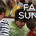 Family Sunday – THIS Sunday!