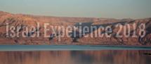 Israel Experience 2018 – SPOTS OPEN!