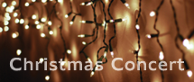 Christmas Concert – THIS Saturday!