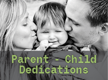 Child Dedication Info Meeting – NEXT Sunday!
