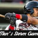 Men's Storm Game – THIS Saturday!