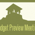 Budget Preview Meeting – THIS Sunday!