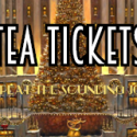 Christmas Tea Tickets 2021 – THIS Sunday!