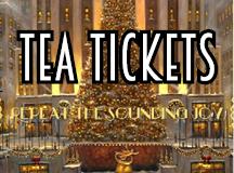 Christmas Tea Tickets 2021 – NEXT Sunday!