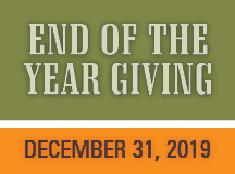 End of the Year Giving 2019