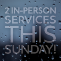 Update for November 8's Morning Services